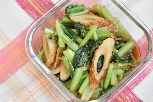 あと一品に覚えておきたい!和風も中華風も楽しめる「小松菜」の作りおき