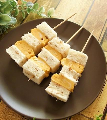 おうちごはんが楽しくなる!子どもも食べやすい進化系「串サンドイッチ」