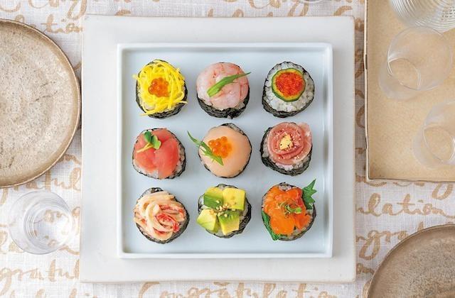 色鮮やかで気分もアガる!おうちで楽しむ「春のお祝いお寿司」