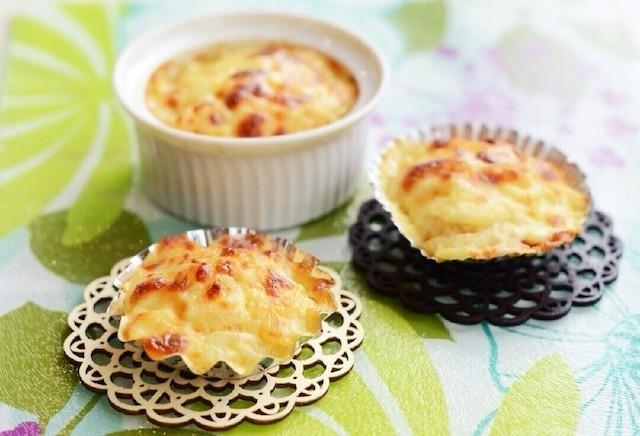 お弁当に!トースターで作る簡単「グラタン」バリエ