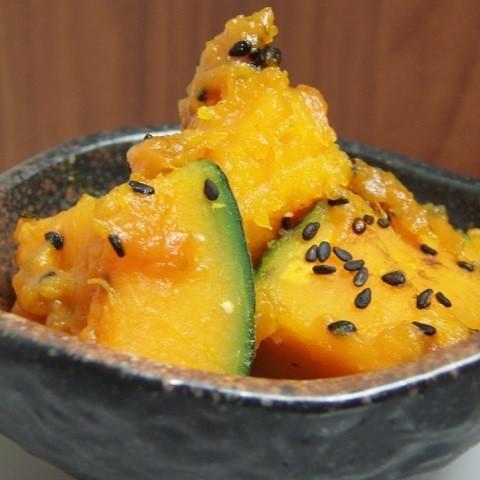 デリ風もやみつき味も!「かぼちゃ」の5分副菜
