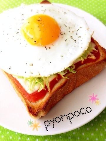 新生活!「スライスチーズ×トースト」で1週間アレンジ☆朝ごはん