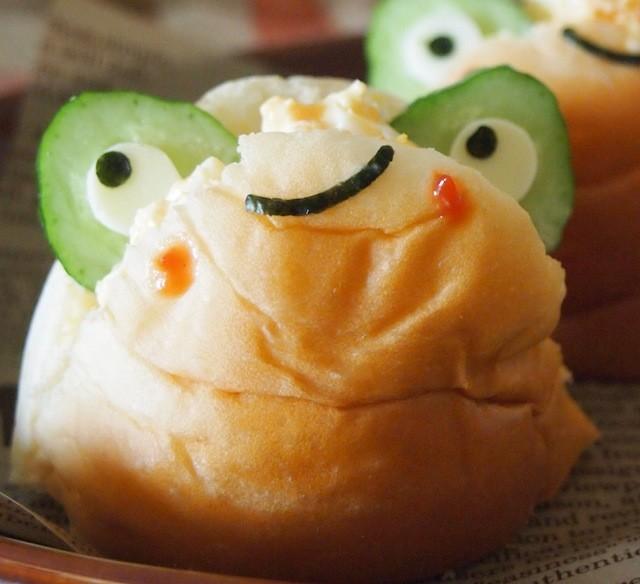 サンドイッチ界に新顔登場?!見てかわいい食べておいしいロールパンアート!