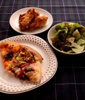 【きじまりゅうた料理教室16年4月】こだわりの手作りピザ