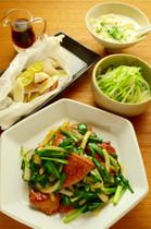 【きじまりゅうたの料理教室16年9月】レバニラ炒め定食