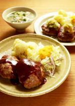 【特別レッスン17年1月】絶品ハンバーグ〜洋&和の贅沢2種ソース〜
