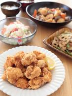 【2月料理教室】ふっくらジューシー唐揚げとごちそう野菜の献立