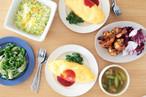 【3月料理教室】懐かしい喫茶店の味!オムライスを中心に春らしい洋風献立