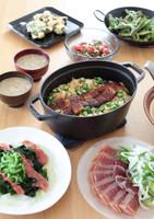 【8月料理教室】夏野菜たっぷりのお魚おもてなしカジュアル和食献立
