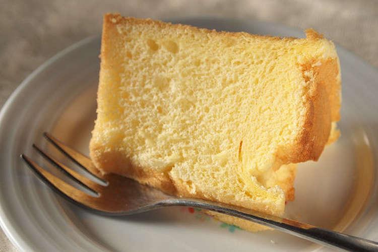 スペシャル シフォン が 教える プロ レシピ の ケーキ