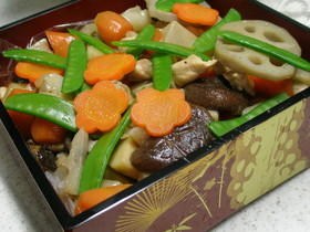 超簡単正月料理☆筑前煮☆おせち覚書