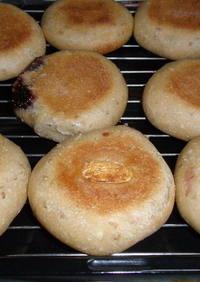自家製酵母平焼きパン