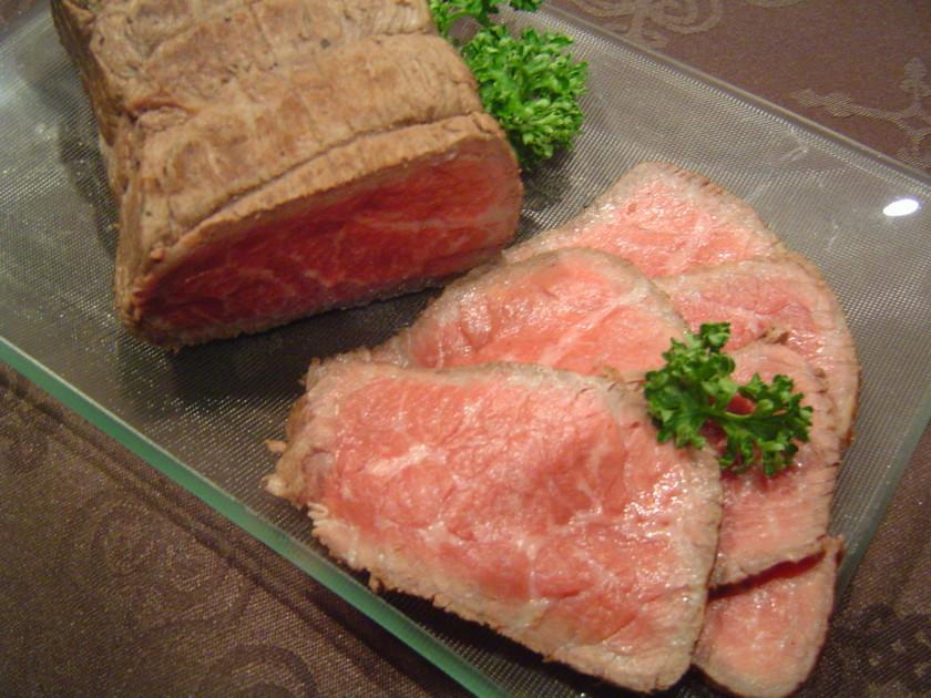 我が家のお節料理「ローストビーフ」