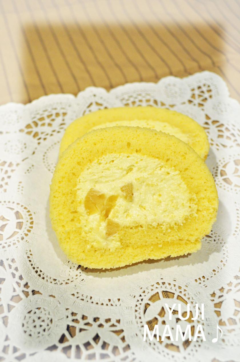 ◆おせちの栗きんとんdeロールケーキ◆
