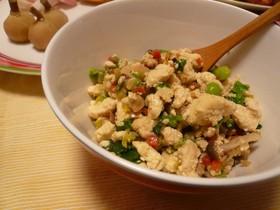 お野菜たっぷり懐かしの炒り豆腐☆