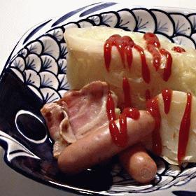 驚くほど簡単まるごとキャベツスープ煮