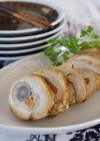鶏肉の野菜巻き 梅風味