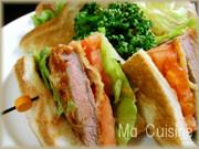 ビーフカツサンドイッチの写真