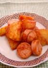 お弁当にパパッと☆お魚ソーセージじゃが芋