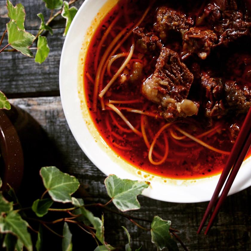これぞ台湾の味?美味しいよ♪紅焼牛肉麺★