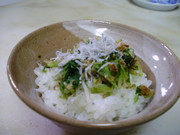 水菜の漬物の写真