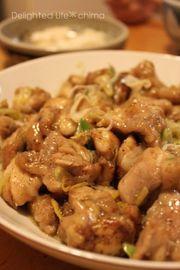 ピリッと辛い☆鶏の香味焼きの写真