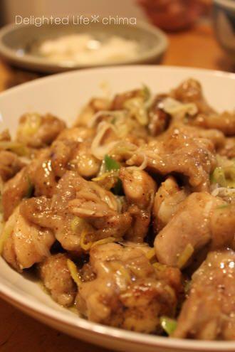 ピリッと辛い☆鶏の香味焼き