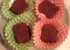 レンジで♪生チョコ風☆切り餅でチョコ餅