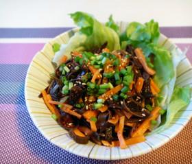 お腹すっきり!きくらげと人参の中華サラダ