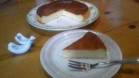 粉ミルク消費第二弾!ベイクドチーズケーキ