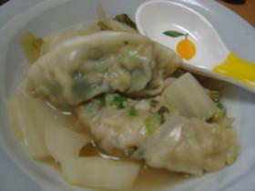 タマリンドスープ♡水餃子バージョン