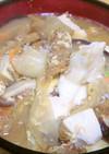 中華風豆腐クッパ