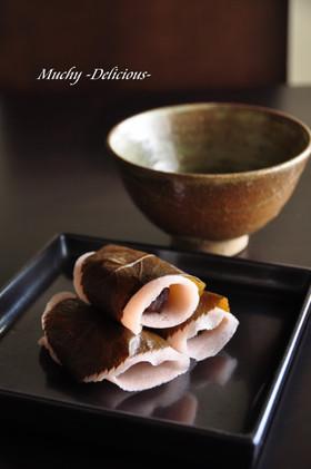 混ぜるだけ簡単☆本格的なさくら餅~関東風