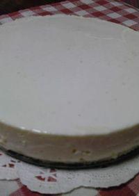 超簡単・濃厚レアチーズケーキ