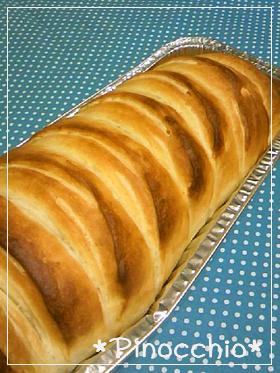 HB✾パイシートで簡単デニッシュ風食パン