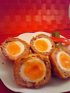 簡単裏技!半熟卵のスコッチエッグ☆