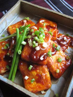 簡単・節約【豆腐のコチジャン焼】旨いよ♪