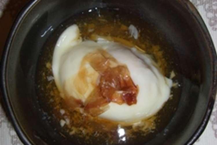 レンジ で 温泉 卵