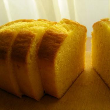 卵とバター香る♪基本のパウンドケーキ☆