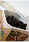 黒豆煮(圧力なべ)
