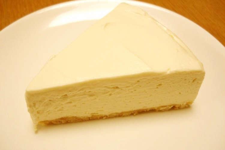 レモン チーズ 汁 なし ケーキ