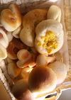 ふわふわ菓子パン アレンジいろいろ