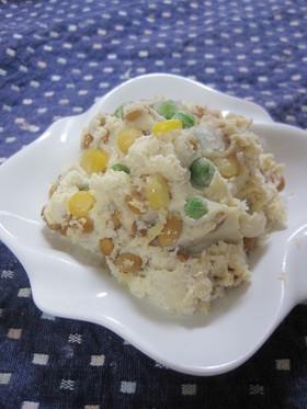 納豆&豆腐&おからのサラダ