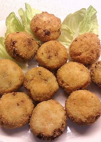 簡単、天ぷら粉でコロッケ&フライ