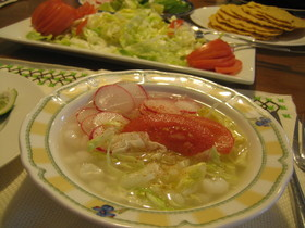 クリアなポソレ メキシカンスープ