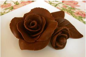 デコレーション*チョコレートのバラ*薔薇