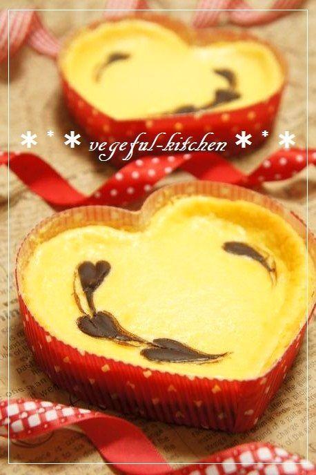 バレンタイン本命チョコレートチーズケーキ