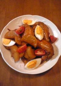 鶏手羽先の甘辛煮
