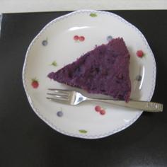 簡単☆紫イモのケーキ