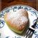 * ハートの半熟チーズケーキ *
